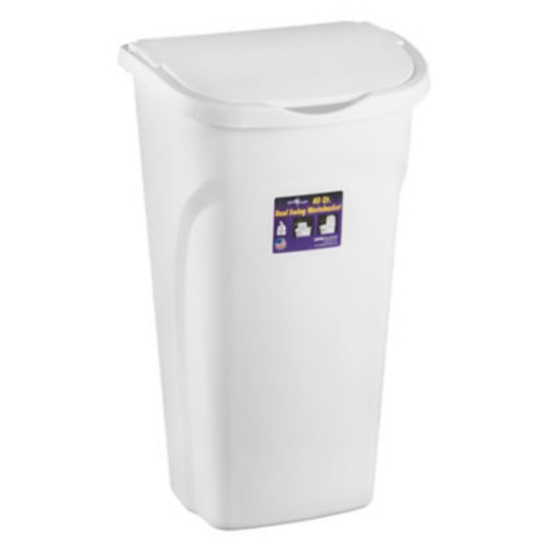 United Solutions Organize Your Home Dual Swing Wastebasket 40 QT
