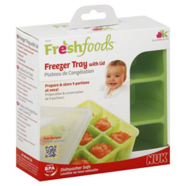 Freshfoods Freezer Tray, with Lid