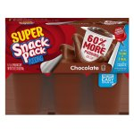 Super Snack Pack Chocolate Pudding, 5.5 Ounce (6 count)