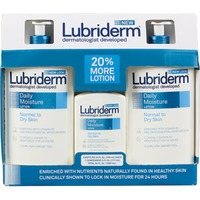 Lubriderm® Twin Pack At 24 Oz / Dm 6 Oz Club Moisturizers