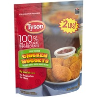 Tyson Frozen Breaded Bagged Chicken Nuggets