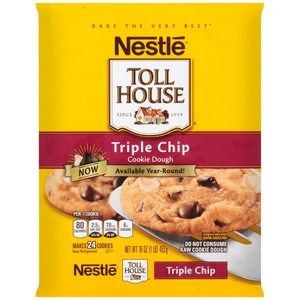 Toll House Triple Chip Cookie Dough