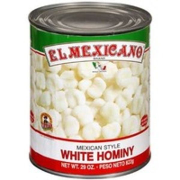 El Cazo Mexicano Mexican Style White Hominty