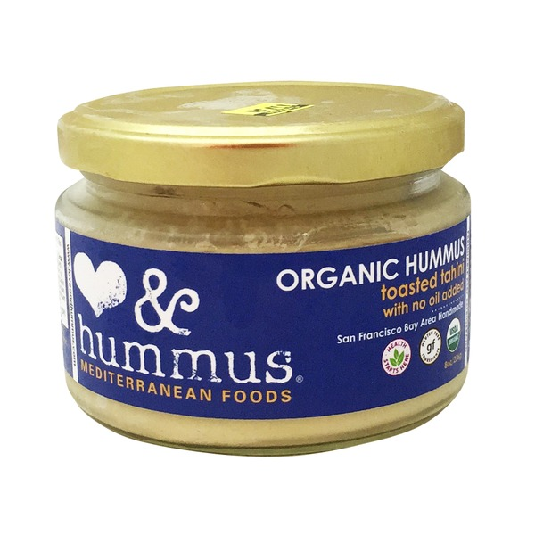 Love And Hummus Co Organic Hummus Toasted Tahini With No Oil Hummus
