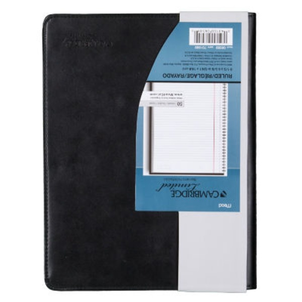 Mead Cambridge Limited Notebook, Business, Ruled, 50 Sheets