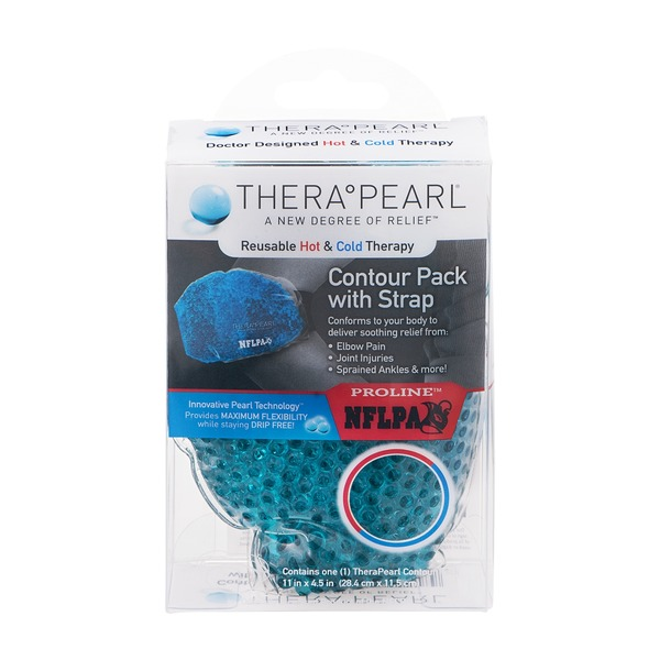 TheraPearl Contour Pack With Strap