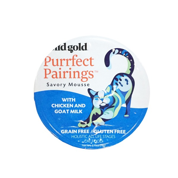 Solid Gold Purrfect Pairings Savory Mousse With Chicken & Goat Milk Grain Free Gluten Free Cat Food