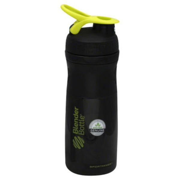 BlenderBottle Grip Tritan 28 oz Black Assorted Water Bottles