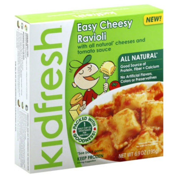 Kidfresh Easy Cheesy Ravioli