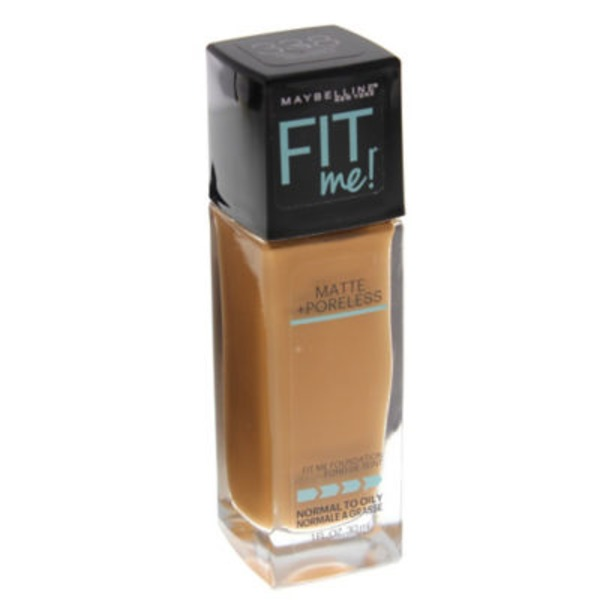 Fit Me® 338 Spicy Brown Matte + Poreless Foundation