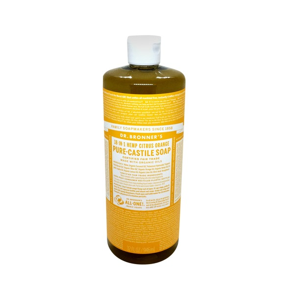 Dr. Bronner's All-One! Dr. Bronner's Magic Soap - Citrus Orange