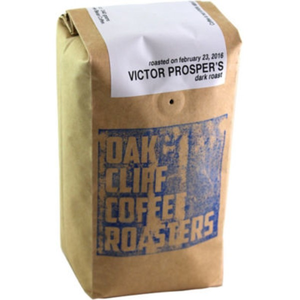 Oak Cliff Coffee Victor Prosper Dark Roast