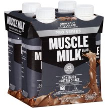 Muscle Milk Pro Series Shake, 32 Grams of Protein, Knockout Chocolate, 11 Oz, 4 Ct