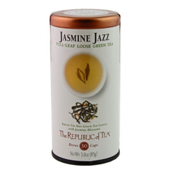 The Republic of Tea Jasmine Jazz Full Leaf Loose Green Tea