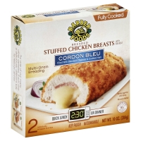 Barber Chicken Breast Stuffed Cordon Bleu Fully Cooked - 2
