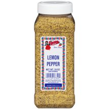 Bolner's Fiesta Brand Lemon Pepper, 24 oz