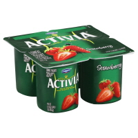 Dannon Activia Yogurt Strawberry - 4