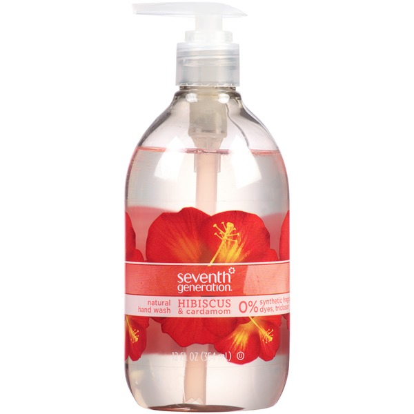 Seventh Generation Hibiscus & Cardamom Natural Hand Wash