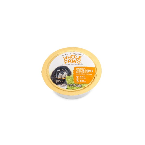 Whole Paws Grain-Free Chicken Dinner Dog Food