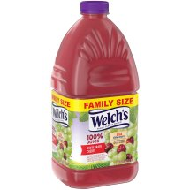Welch's 100% Fruit Juice, White Grape Cherry, 96 Fl Oz, 1 Count
