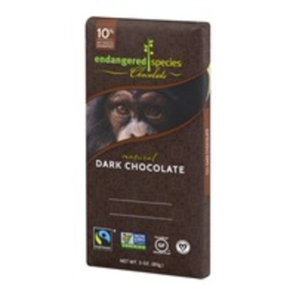 Endangered Species Chocolate Dark Chocolate
