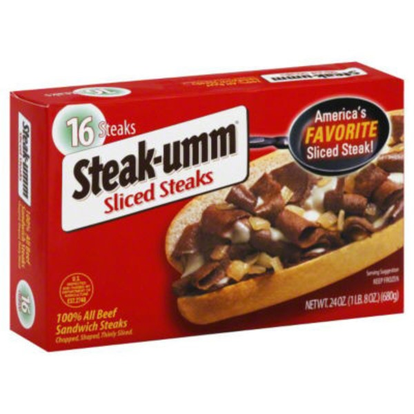 Steak-umm Sliced Steaks