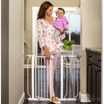 Regalo Extra Wide Baby Gate, 29'-40' with Walk Through Door