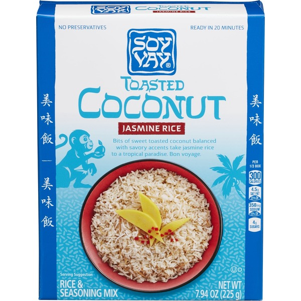Soy Vay Toasted Coconut Rice Mix