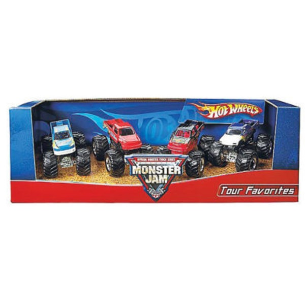 Hot Wheels Monster Jam Tour Favorites 3