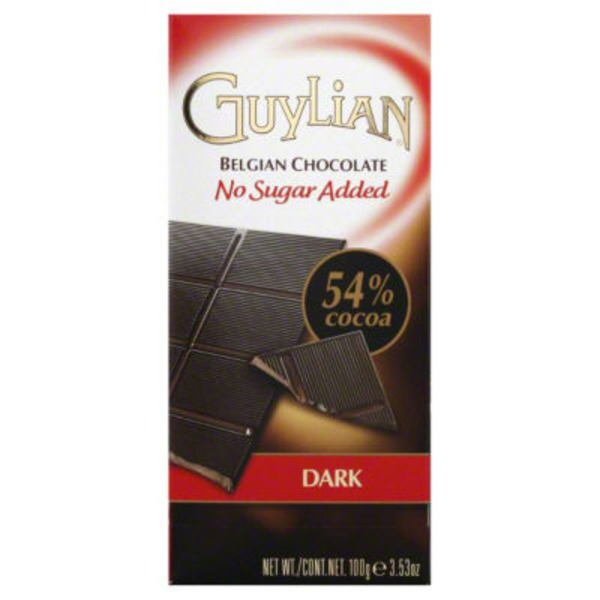 Guylian Belgian Bittersweet Chocolate No Sugar Added