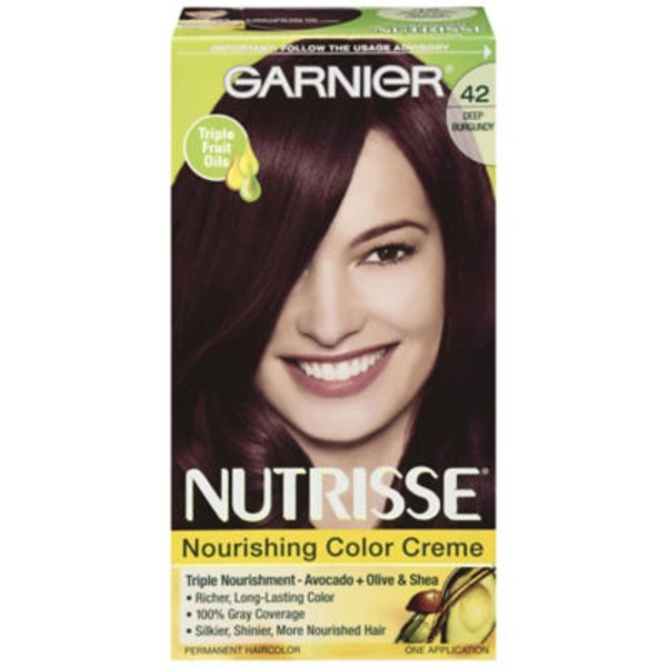 Nutrisse® 42 Deep Burgundy (Black Cherry) Nourishing Color Creme