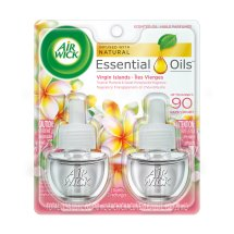 Air Wick Plugins Tropical Plumeria & Sweet Honeysuckle 0.67 oz. (Pack of 2)