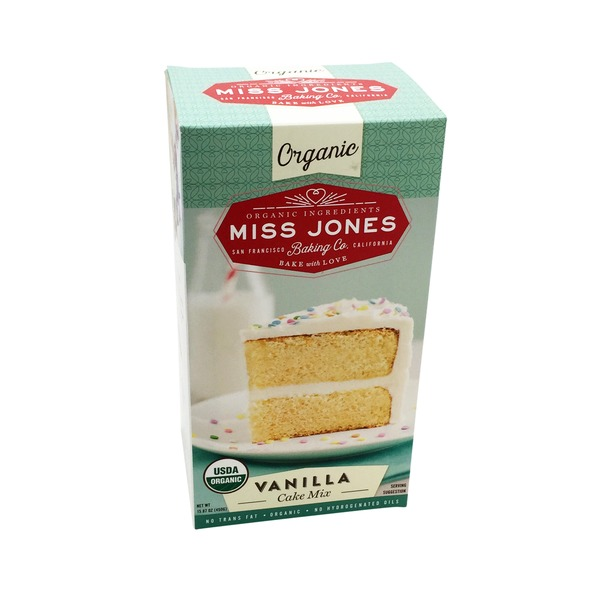 Miss Jones Vanilla Cake Mix