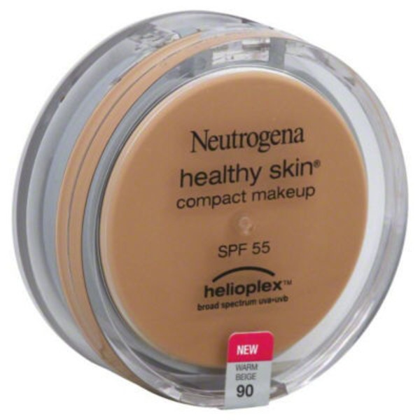 Neutrogena® Compact Makeup with Helioplex SPF 55 Warm Beige Healthy Skin