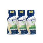 Ensure Light Nutrition Shake Vanilla 8 fl oz Bottles (Pack of 6)