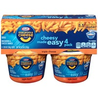 Kraft Dinners Triple Cheese Macaroni & Cheese Dinner