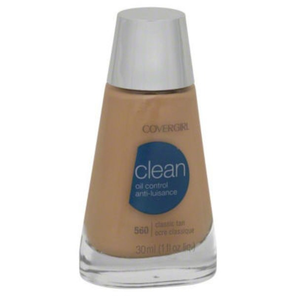 CoverGirl Clean Matte COVERGIRL Clean Matte Liquid Foundation Classic Tan 1 fl. oz Female Cosmetics