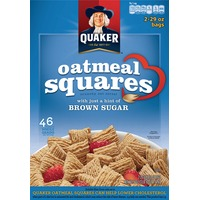 Quaker Oatmeal Squares Oatmeal Squares Brown Sugar Cereal