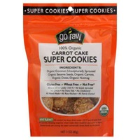 Go Raw Organic Carrot Cake Sprouted Cookies