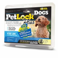 PetLock Plus Flea and Chewing Lice Treatment for Dogs 6-22 lbs