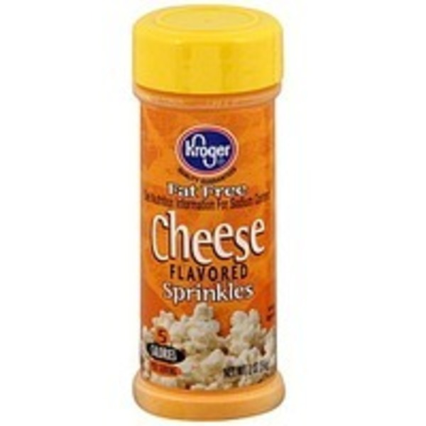 Kroger Cheese Flavored Sprinkles