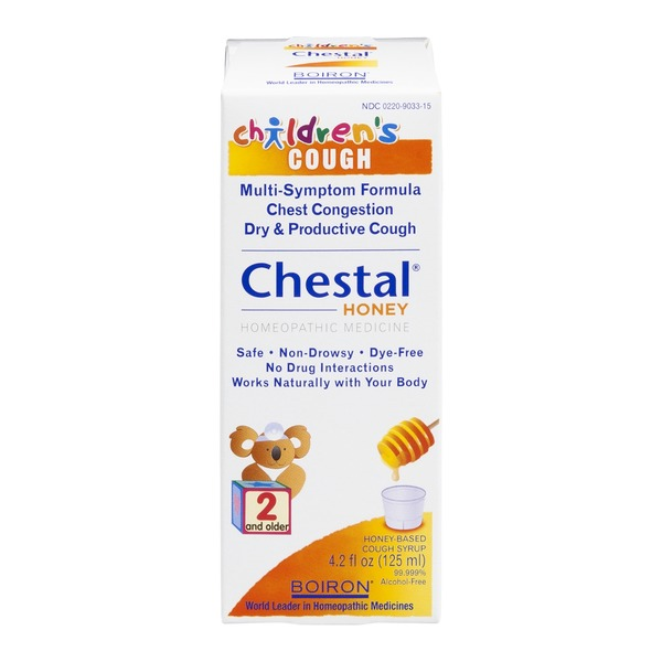 Boiron Chestal Children's Cough Syrup Honey