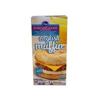 Kroger Turkey Sausage Egg And Cheese English Muffin Breakfest Sandwich