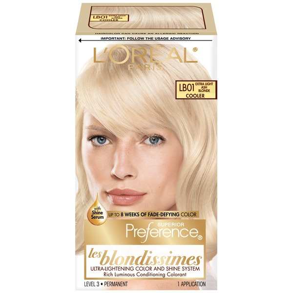 Superior Preference Cooler LB01 Extra Light Ash Blonde Hair Color