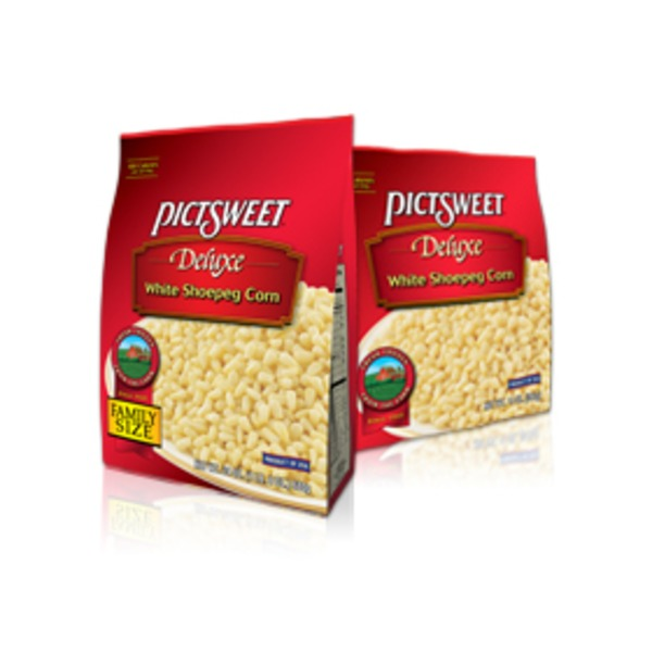 Picsweet Corn, White Shoepeg, Deluxe, Family Size