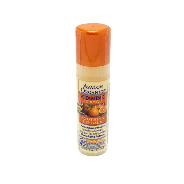 Avalon Organics Vitamin C Renewal Soothing Lip Balm