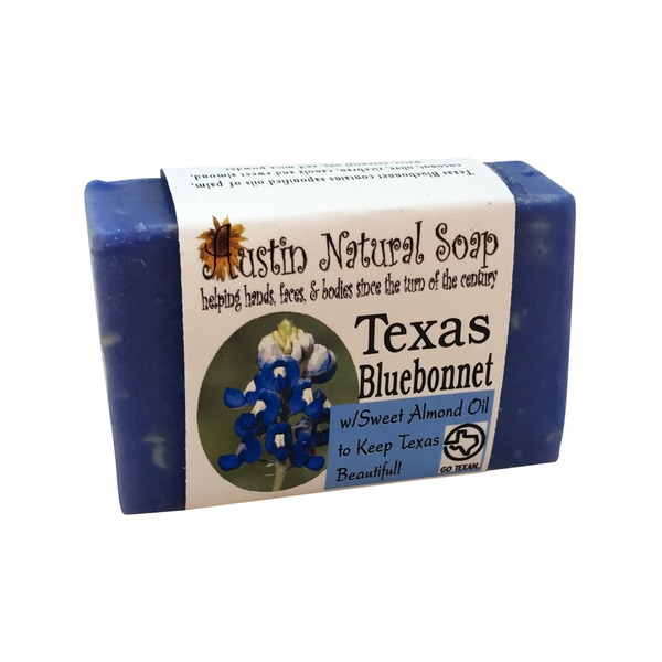Austin Natural Soap Texas Bluebonnet Soap