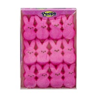 Peeps & Co Marshmellow Bunnies- 12 CT