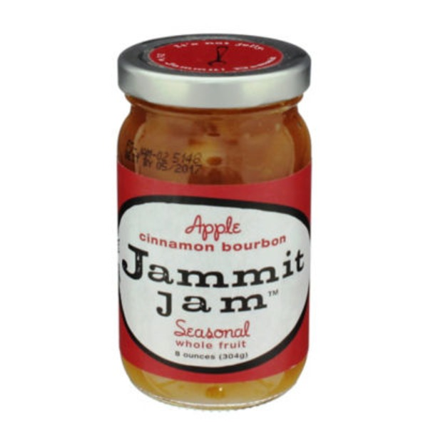 Jammit Jam Apple Cinnamon Bourbon Whole Fruit Spread
