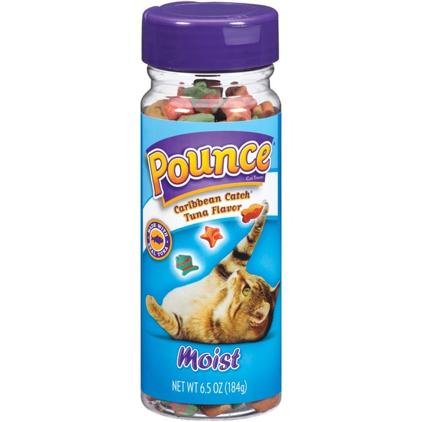 Pounce Moist Caribbean Catch Tuna Flavor Cat Treats